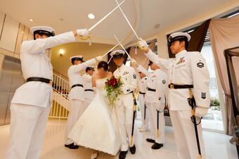 海自結婚式